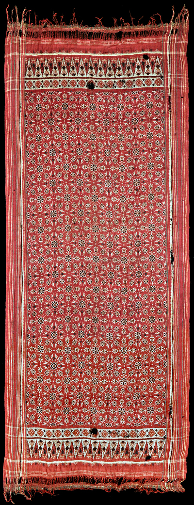 Ikat from Gujarat, India, Indonesia