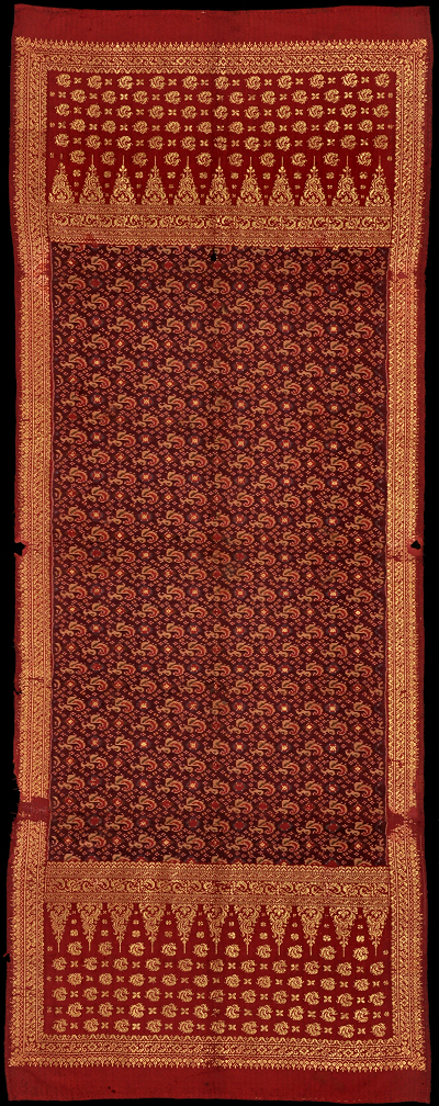 Ikat from Bangka, Sumatra, Indonesia