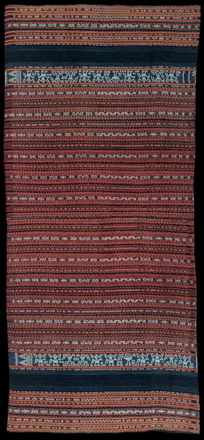 Ikat from Luang, Moluccas, Indonesia