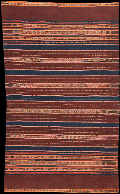 Ikat from Alor, Solor Archipelago, Indonesia
