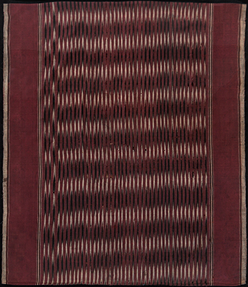 Ikat from Aceh, Sumatra, Indonesia