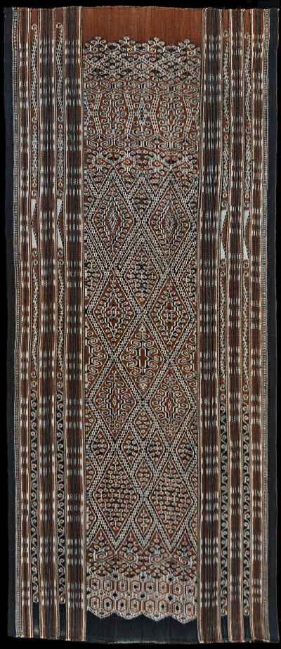 Ikat from Kalimantan, Borneo, Indonesia