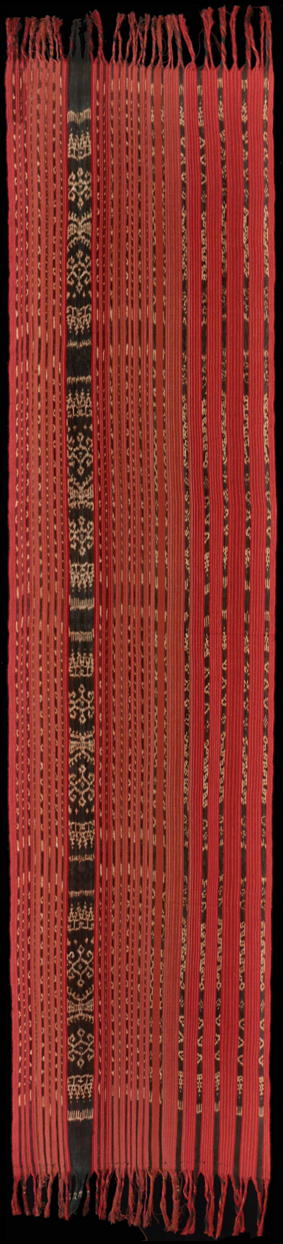 Ikat from Leti, Moluccas, Indonesia
