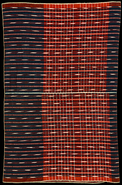 Ikat from Halmahera, Moluccas, Indonesia