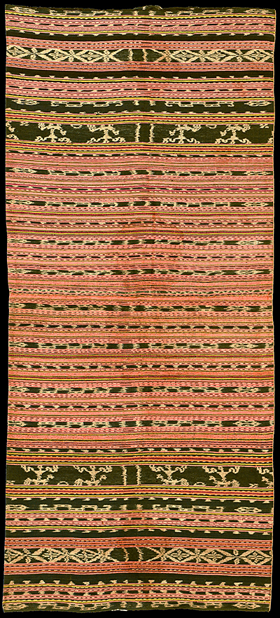 Ikat from Romang, Moluccas, Indonesia