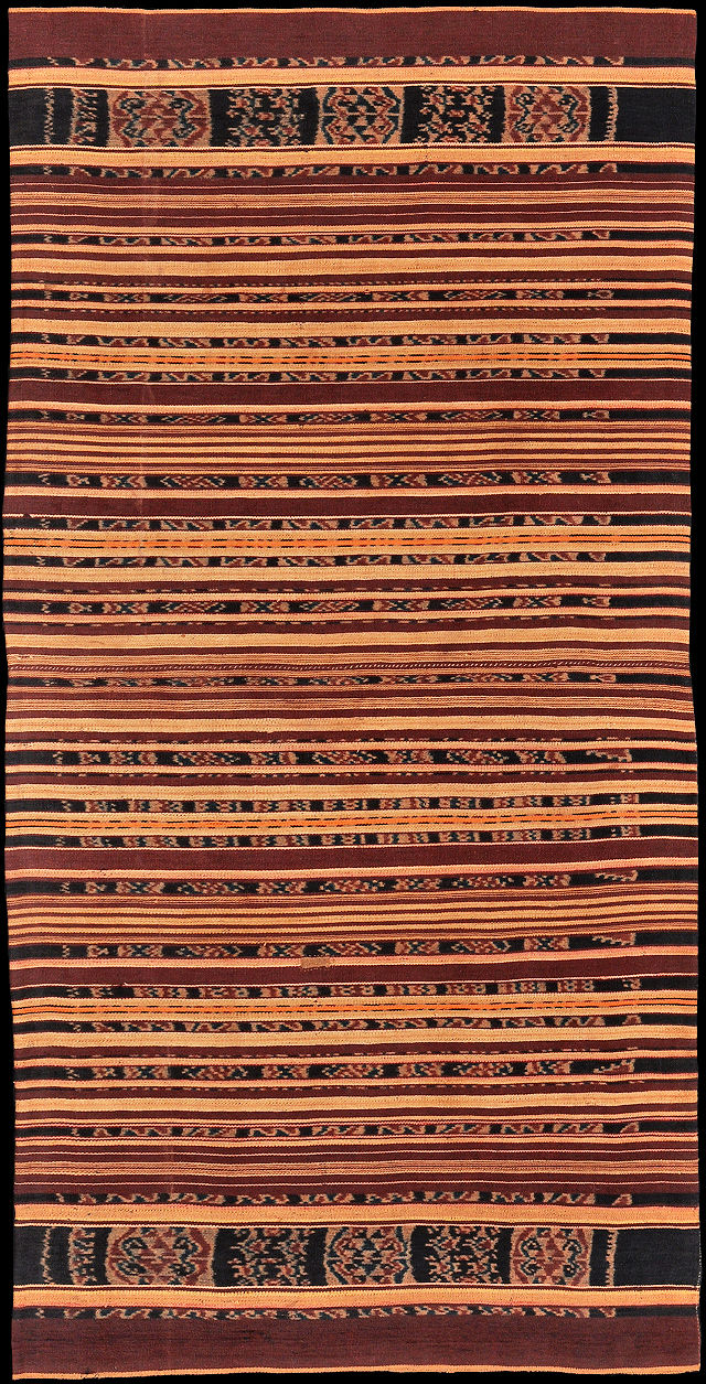 Ikat from Adonara, Solor Archipelago, Indonesia