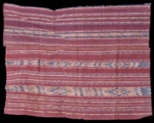 Ikat from Seram