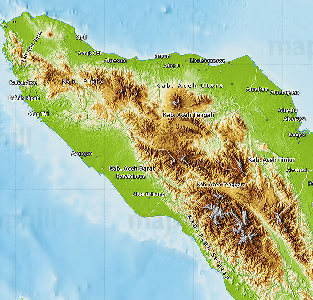 map Aceh