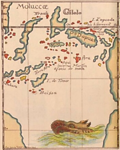 Map of the Spice Islands