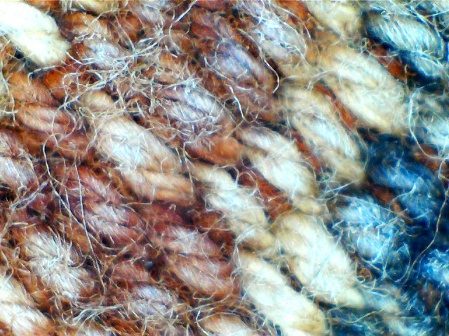 Moluccas, Kisar, Cotton, hand spun, very fine, quadruple ply.