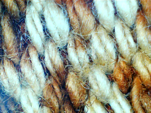 Borneo, Kalimantan, Cotton, hand spun, medium