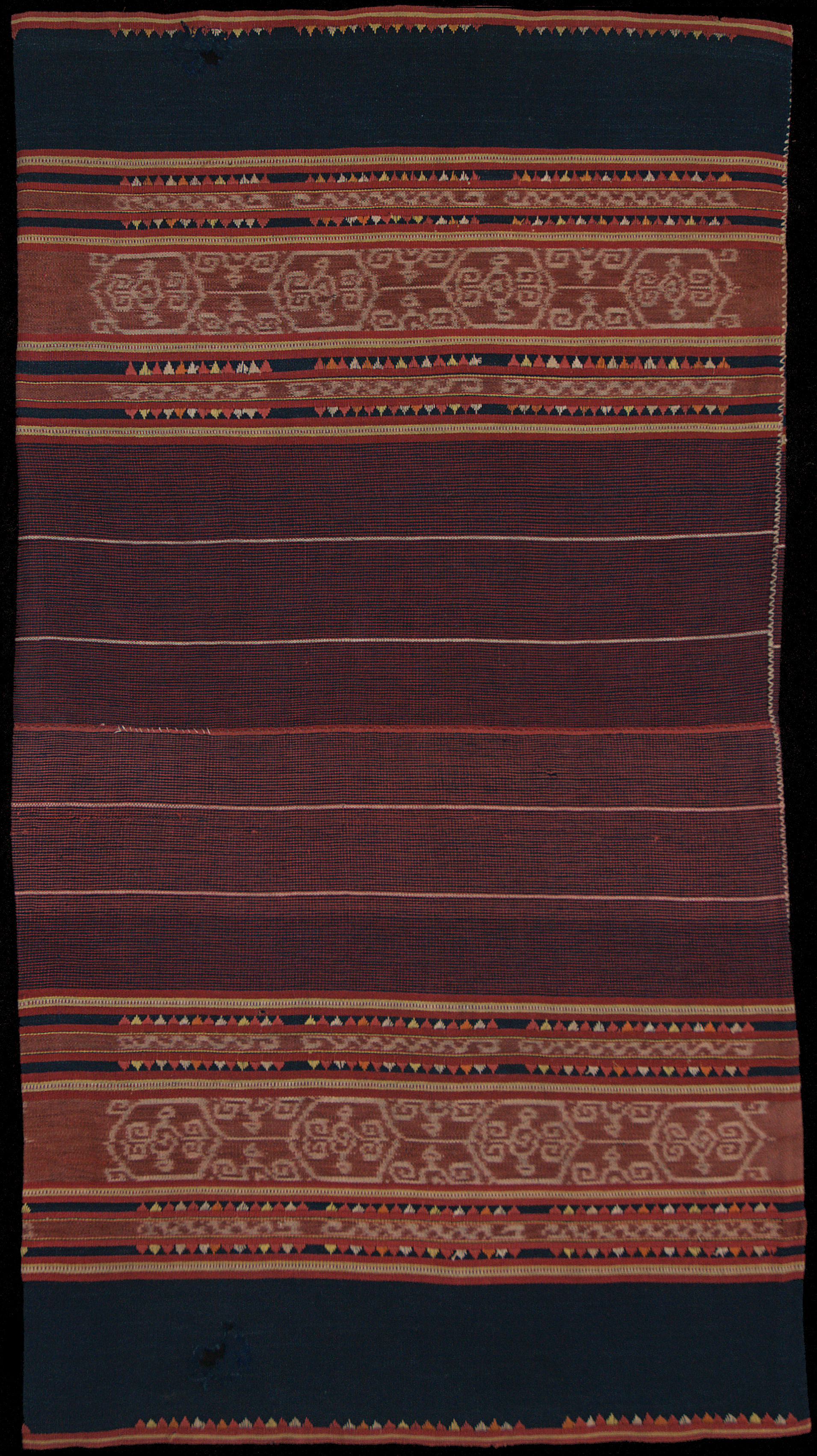 Ikat from Babar, Moluccas, Indonesia